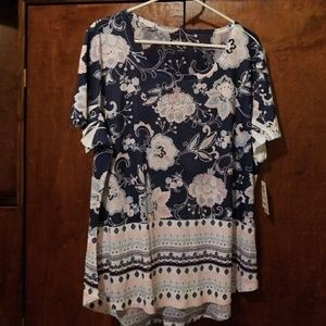 Style & Co floral shirt - New with tags